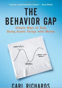 The Behaviour gap - cover